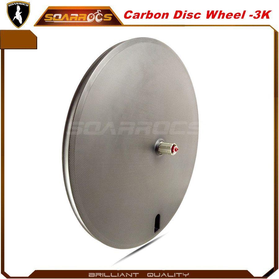 Carbon disc wheel 23mm wide road bike wheelset 700c disc wheel for sale