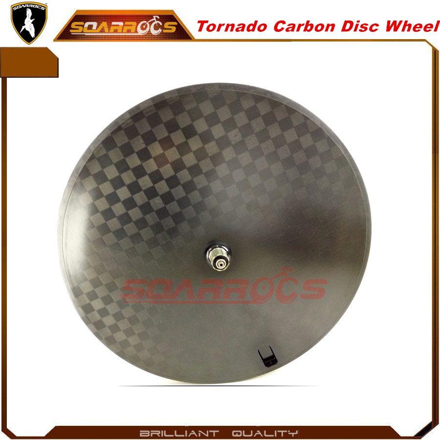 Best disc wheel 700C pro disc wheel 650C rear disc wheel with wheel disc cover 12K/18K/cross pattern bike disc wheel
