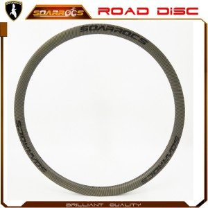 23mm wide road disc carbon fiber rims for sale 700C custom carbon fiber bicycles 38/50/60/88mm tubeless clincher bicycle rims