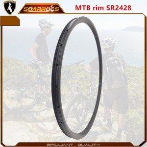 SR2428 XC /AM MTB carbon rims for sale best 29 inch mountain bike rims 27.5 mtb rims