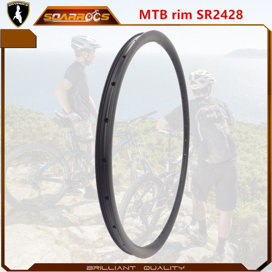Factory Supplier for SR2428 XC /AM MTB carbon rims for sale best 29 inch mountain bike rims 27.5 mtb rims Supply to kazan