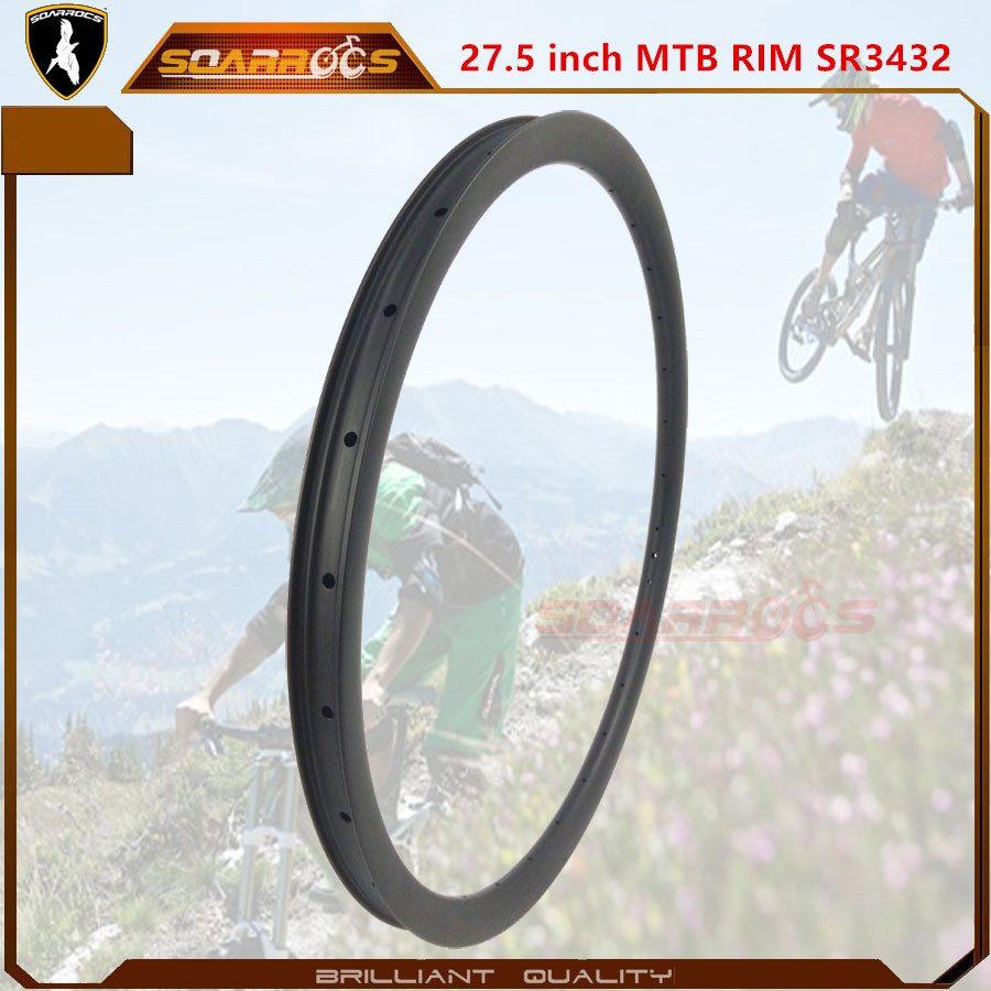 11 Years Manufacturer 27.5 inch MTB rims SR3432M275 best mtb rims for carbon mountain bike mtb wheelset 27.5 for Somalia Manufacturer