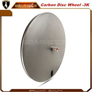 Carbon disc wheel 23mm wide road bike wheelset 700c disc wheel for sale