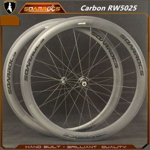 Soarrocs RW5025 carbon wheelset with carbon hub 700c road wheels 16/20h ultralight china carbon wheelset