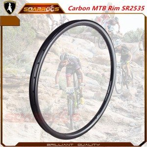 Hookless 29/27.5/ 26 inch bicycle rims SR2535 for carbon mtb wheels 29 35mm wide 26 inch bike rims