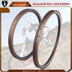 SR3240DH carbon fiber mountain bike 29er carbon rims downhill 40mm wide mtb rims 26 inch mtb rims